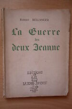 LA GUERRE DES DEUX JEANNE ROBERT BELLANGER THEATRE BRETAGNE BRETON