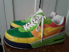 Bape Bathing Ape Bapesta Multi Color Yellow/Green/Red Sneakers