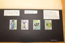 Michael Warren Hand Painted Miniature Stamps