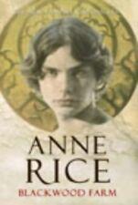 Very Good, Blackwood Farm, Rice, Anne, Book