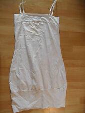 KOOLA ANNA schlichtes Jersey-Trägerkleid Marlene weiß Gr. M NEU ZC616