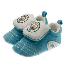 Manchester City Fc Man City Baby Booties Slippers Football Boot 0/3 Months