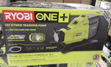 Ryobi P750 18Volt Hybrid Transfer Pump Siphon Portable Powerful Fast Water