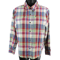Alfred Dunner Multicolor Plaid Long Sleeve Button Up Shirt Women's Size 10P