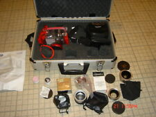nice olympus 50-50 digital camera with underwater housing,extras and travel case