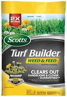 Scotts Turf Builder Weed & Feed 3, 43.07 lbs. Covers 15,000 sq. ft.