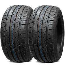 2X New Lionhart LH-FIVE 255/40R18 99W XL All Season Ultra High Performance Tires