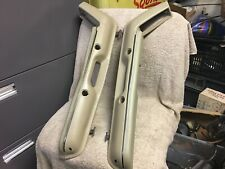 USED FORD  E7ZB-6124145 1987-1993 MUSTANG TAN/BEIGE DOOR PULL ARM REST PAIR