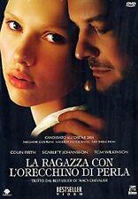Dvd  LA RAGAZZA CON L'ORECCHINO DI PERLA ......NUOVO