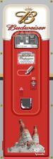 Bud Budweiser Beer Vintage Vending Machine 2'X6' Vinyl Banner