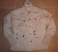 LE GROUP WOMAN DUCK / GOOSE DOWN JACKET SIZE MEDIUM WHITE WORN ONCE ITALY OFFER