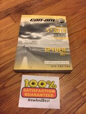 Can-Am Brp Shop Manual Supplement 2014 Roadster Spyder Rt Repair Service