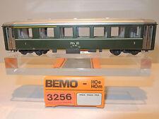 BEMO 3256 Personenwagen der RhB, 1./2.Klasse, HOm, grün,  OVP