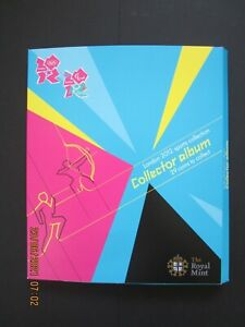 London 2012 sports collection, 29 +1 - 50p coins Olympics by The Royal Mint