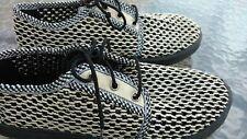 BRAND NEW Men's Mesh Urban Summer Sneakers, Size 8-8.5 Melange Black/Beige