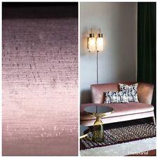 Designer Antique Inspired Velvet Fabric - Violet Pink - Upholstery