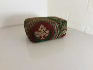 Beautiful vintage tapestry  doorstop