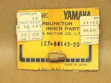 NOS Yamaha AS2 DT125 DS7 R5 RD350 YD3 YAS1 YDS2 RS100 Carburetor Main Jet #100