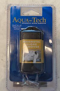 NEW! AQUA-TECH MAGNETIC ALGAE REMOVER/CLEANER FOR AQUARIUMS Sealed