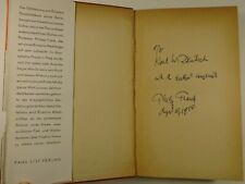 1949 EINSTEIN sein leben und seine zeit PHILIPP FRANK inscribed to KARL DEUTSCH