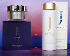 1  JERICHO PREMIUM Night Cream + 1  JERICHO Facial Foaming Scrub FOR HAPPY SKIN!