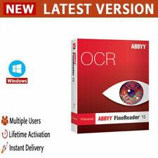 ABBYY FineReader Corporate 15 ✔️Full Version✔️Lifetime Licence key ✔️Windows✔️