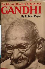 Life and Death of Mahatma Gandhi 1st Edition Hardcover Robert Payne, Dutton 1969