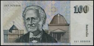 Australia $100 Paper Money Banknote #p 48 1985