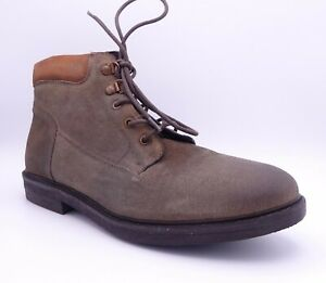 Palladium Men's Cosmocrate Rust Tan Brown Leather Lace Up Boots Size UK 12 EU 46
