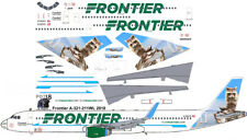 "New Frontier ""Raccoon"" Airbus A321 airliner decals for Revell 1/144 kits"