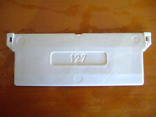 127mm VERTICAL BLIND BOTTOM WEIGHT SAMPLE PARTS FOR SLATS / DRAPES NEW & CHEAP