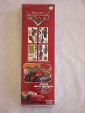 NEW Disney Cars LIGHTNING McQUEEN Self Stick Room Appliques Wall Stickers