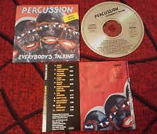 Funk Hip Hop PER CUSSION **Everybody's Talking** RARE 1987 Germany CD BREAKDANCE