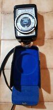 Gossen Profisix Light Meter with leather case