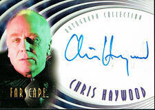 FARSCAPE SEASON TWO AUTOGRAPH CARD A11 CHRIS HAYWOOD BINDER EXCLUSIVE