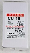 1PC Brand New TECO CU-16 220VAC Contactor
