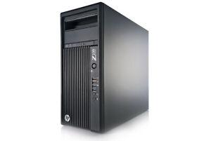 HP Z230 Workstation i7 CPU@3.6GHz 16GB Ram - 256GB SSD + 500GB HD -  Quadro K620