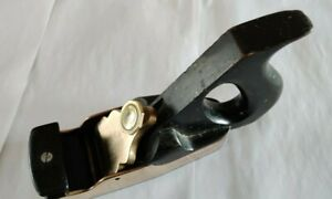Antique Unbranded Brass and Wood Smoothing Plane