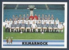PANINI SCOTTISH FOOTBALL LEAGUE 95- #187-KILMARNOCK TEAM PHOTO