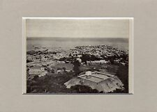 Antique matted print Panama Central America 1932