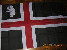 100% New Reproduced Flag of Svalbard Norway Ensign 3X5ft Greenland Scandinavia