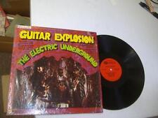 Rock Psych Fuzz Shrink LP THE ELECTRIC UNDERGROUND Guitar Explosion on Premier