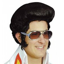 Elvis High Black Wig, 1950s,1960s, 1970s, Rock and Roll, Music Icon 14121