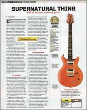 PRS SE Santana solid body guitar 8 x 11 sound check product review
