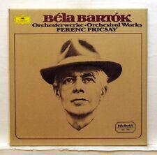 FERENC FRICSAY, ANDA, VARGA - BARTOK Orchestral works DGG 5xLPs box EX+
