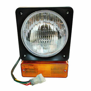 Pair JCB 2CX 3CX 4CX Matbro Terex John Deere headlamp