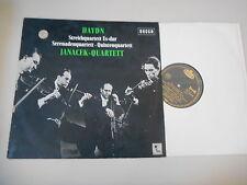 LP CLASSICA Janacek-Quartetto-Haydn: quartetto Es-Dur (12) canzone Decca ste