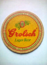 Vintage GROLSCH LAGER BEER ( HOLLAND )    - Cat No'?? Beermat / Coaster