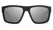 NEW Von Zipper Dipstick Sunglasses-BKN Black Satin-Grey Chrome-SAME DAY SHIPPING