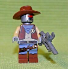 DEPUTRON Minifigure ~ Robot Sheriff ~ Lego Movie Collection ~ MINT